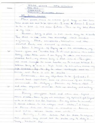 Essay On My Dream School For Class 7