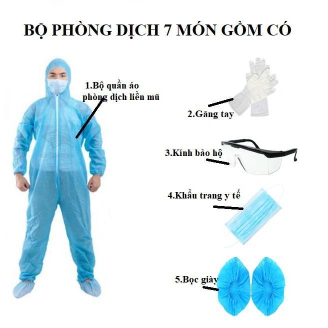 Dùng bộ quần áo phòng dịch là yêu cầu cơ bản của y bác sĩ