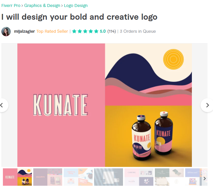 Make a branded logo for your business. Pro logo designer from Fiverr.