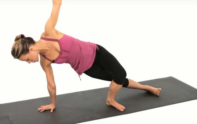 side plank yoga