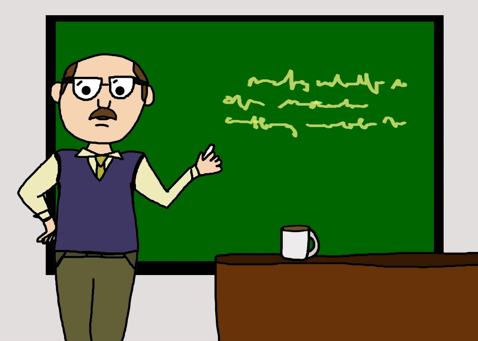 Male Teacher Cartoon Free Stock Photo - Public Domain Pictures