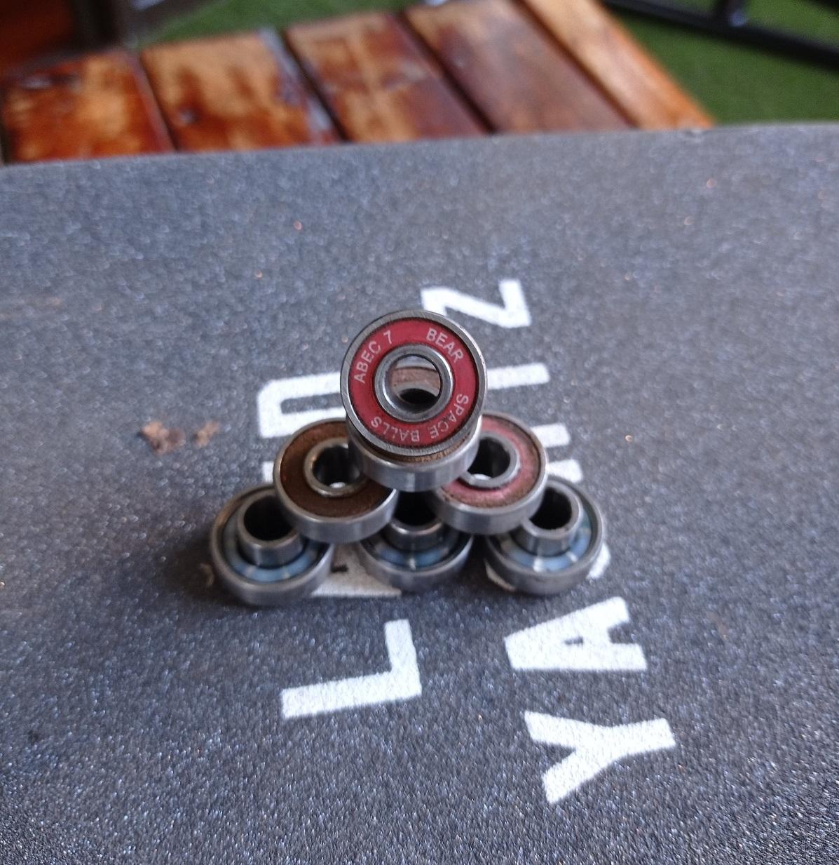 Bear spaceball bearings