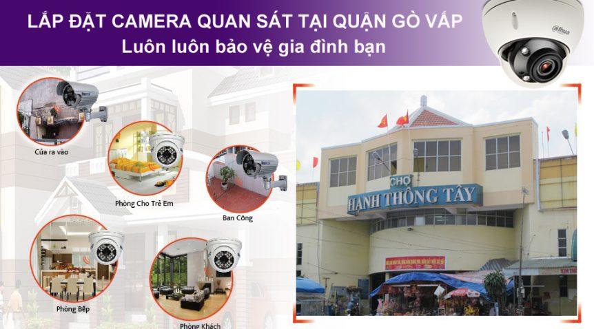 Lắp đặt camera tại Gò Vấp giúp ngăn ngừa được nhiều sự cố rủi ro như hỏa hoạn