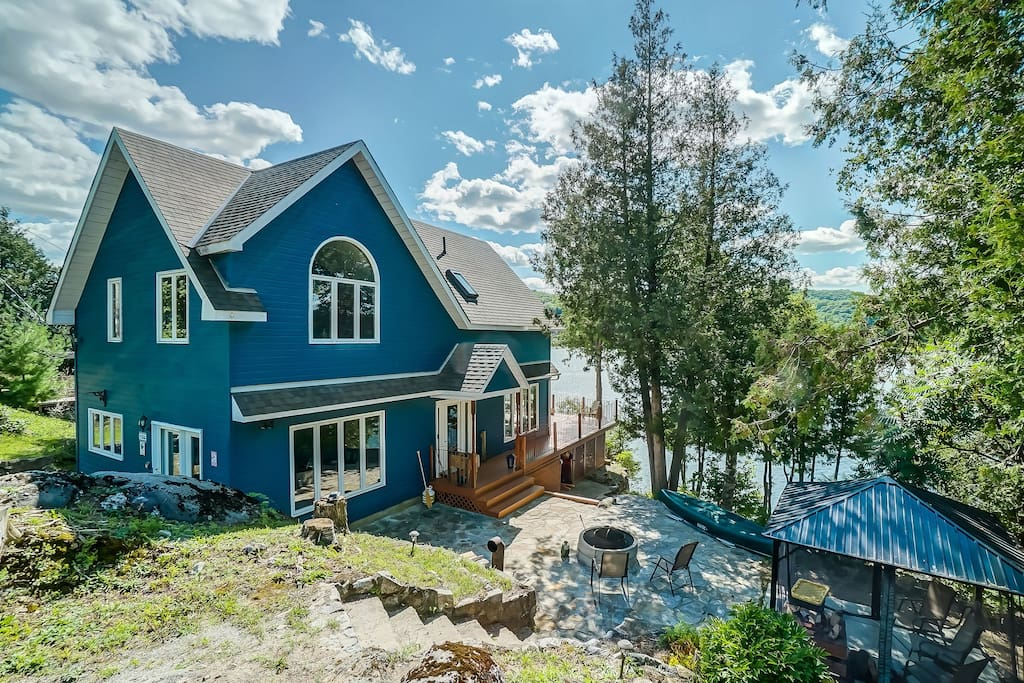 Cottages for rent for 6 people in Quebec #1