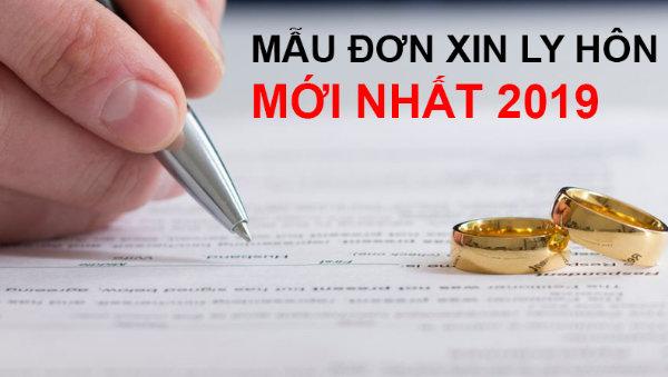 Tìm hiểu mẫu đơn xin ly hôn mới nhất hiện nay