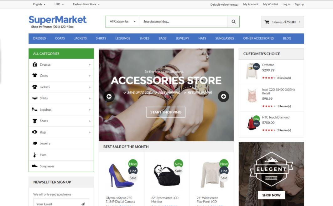 Supermarket & Deal