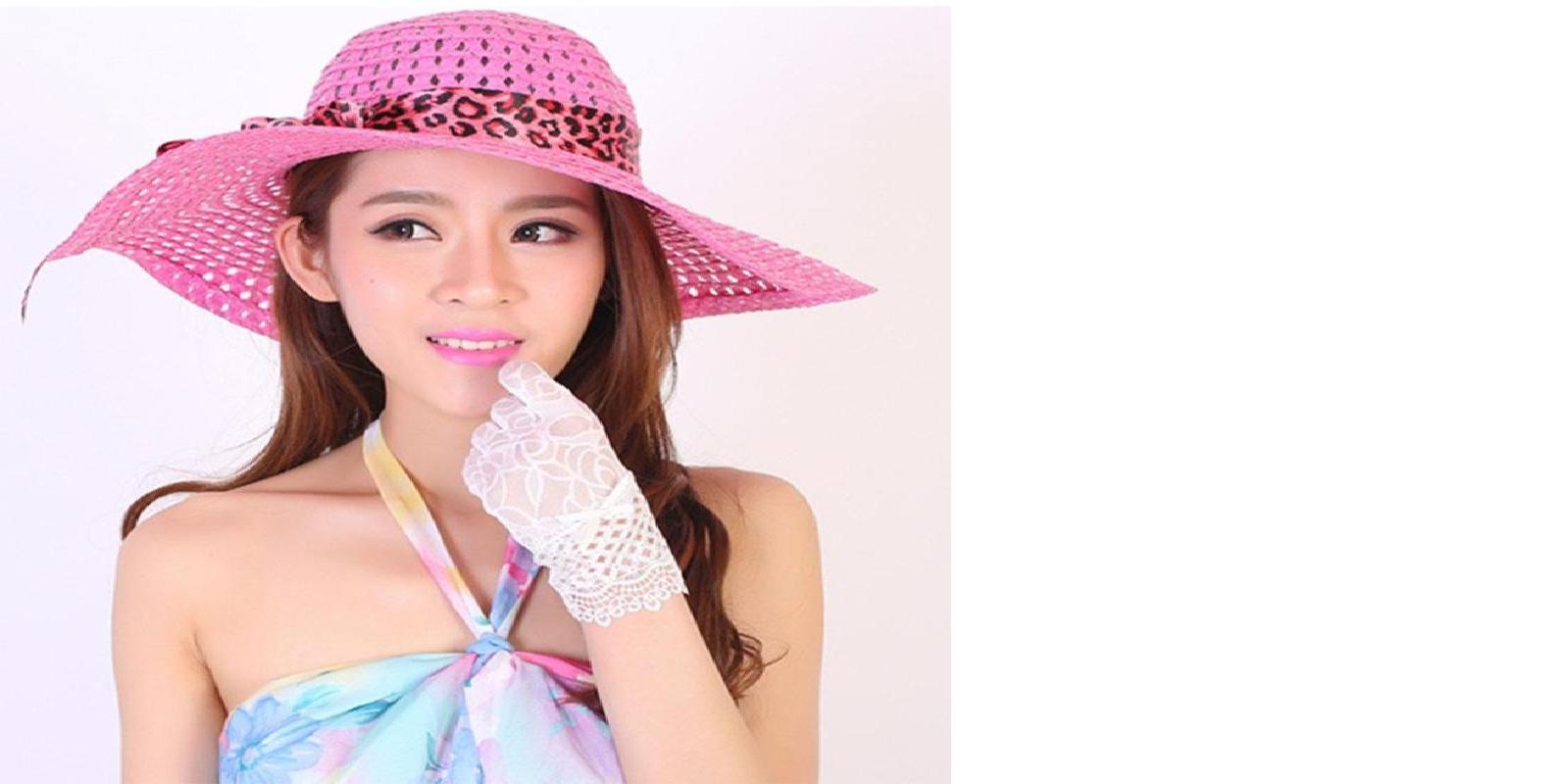 d0a6befbd8ac97 BTLIGE New Women Beach Hat Lady Derby Cap Wide Brim Floppy Fold Summer  Bohemia Sun Straw Hat Dropshipping