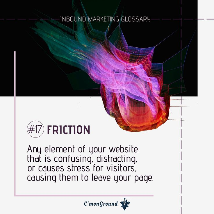 Friction-causing website elements