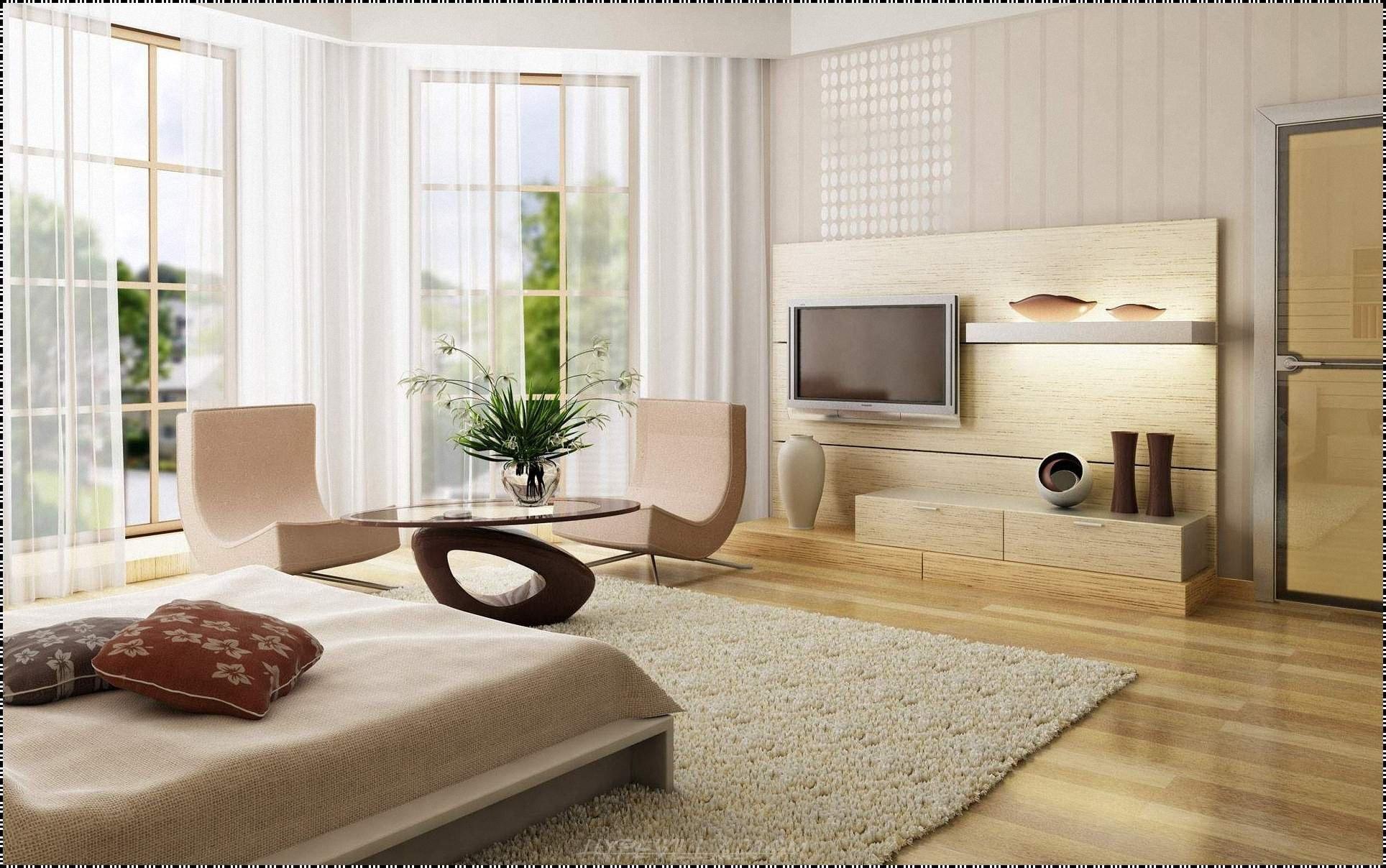 Không gian phòng ngủ màu kem đẹp hút mắt.