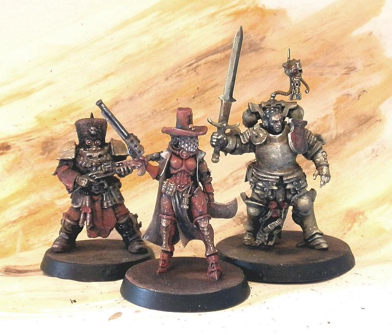 Inquisitor Warband by Ana Polanscak