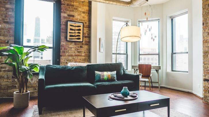 Green 2-seat Sofa
