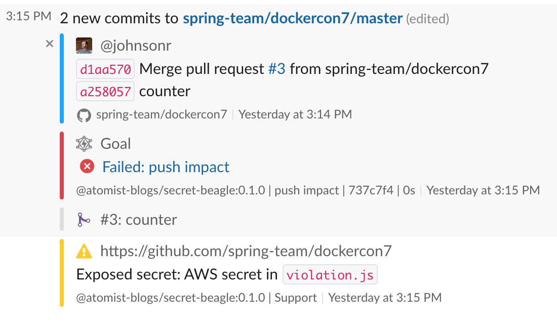 Secure Many Projects with One Piece of Code