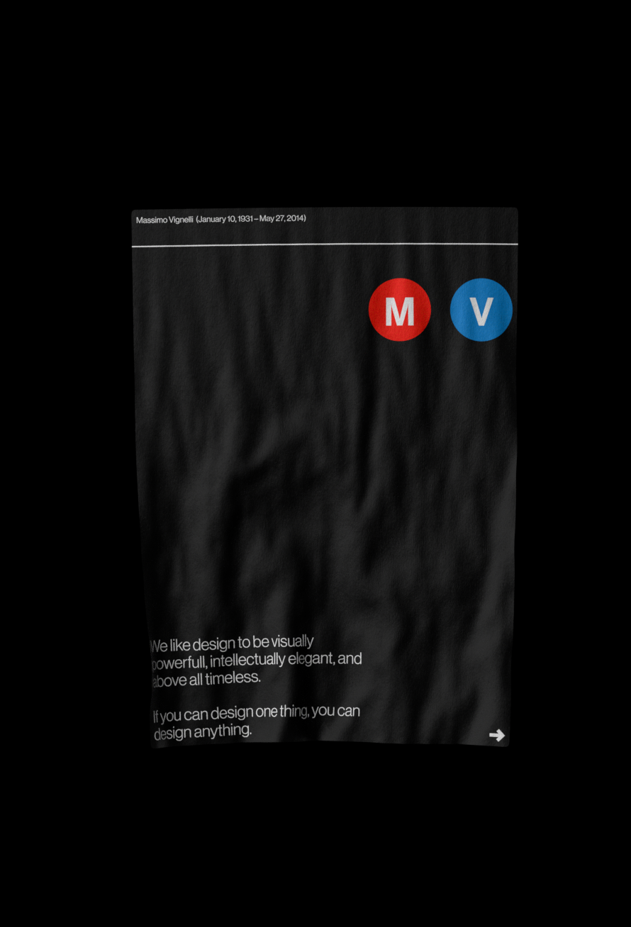 3D branding  DieterRams graphicdesign grid massimovignelli  modernism motion OtlAicher posters