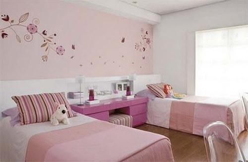 pintar dormitorio significado color rosa