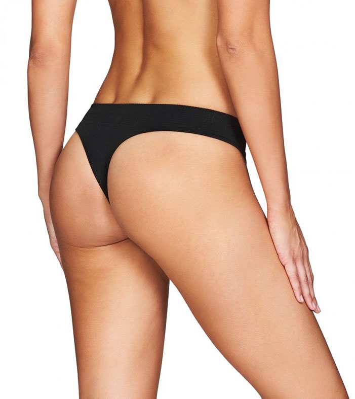 Heidi Klum Intimates Play Seamfree Thong Brief to wear under leggings
