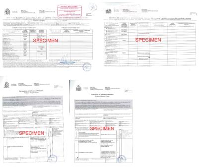 Specimen Ship Sanitation Control Exemption Certificate