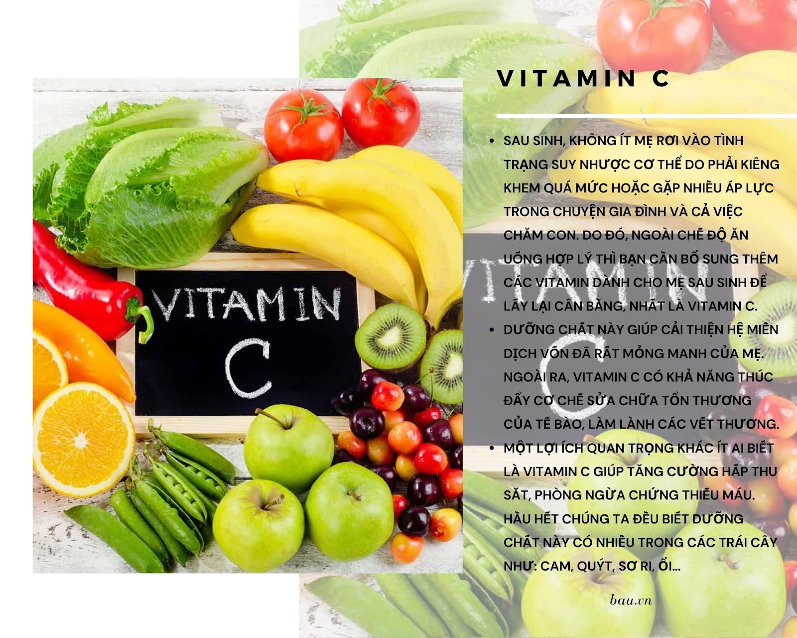 7 loại vitamin cho mẹ sau sinh đang cho con bú - ảnh 4