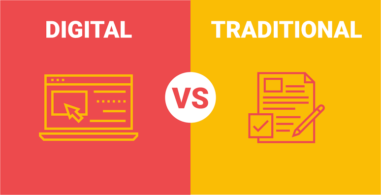Traditional marketing vs digital marketing, which one to pick