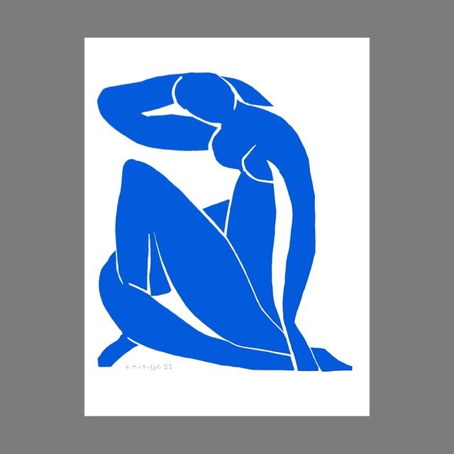 Henri Matisse | Nu Bleu II (Blue Nude II) (2007) | Available for Sale |  Artsy