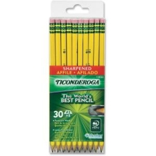 DIX13830 - Ticonderoga Presharpened No. 2 Pencils