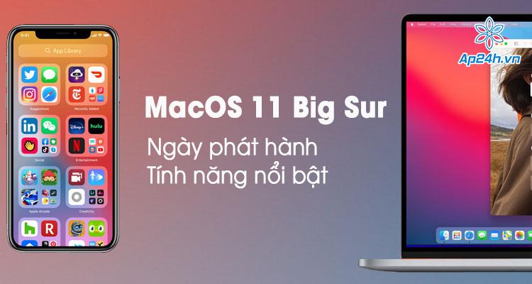 Apple giới thiệu macOS 11 Big Sur