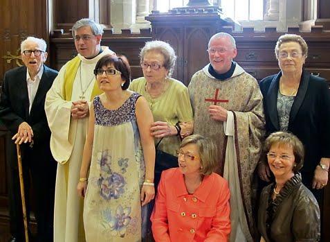 Resultado de imagen de ordenació presbiteral josep miquel bausset