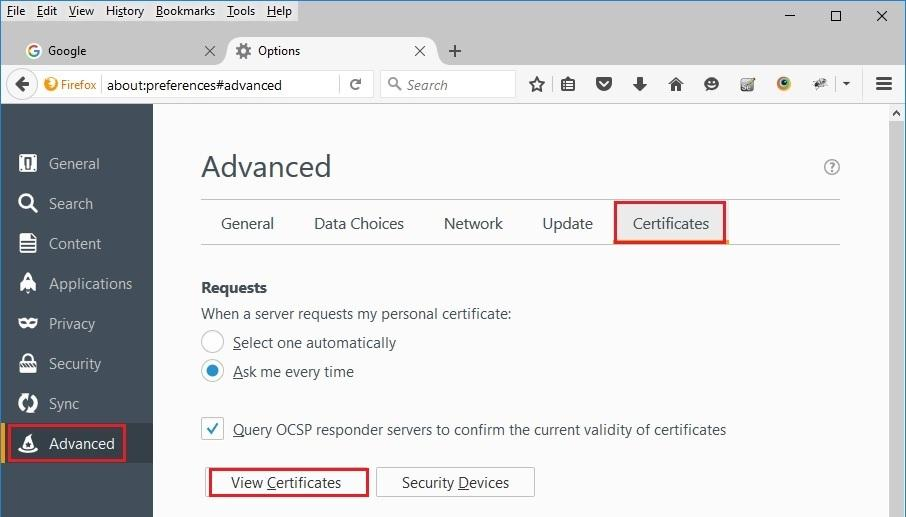 How To Install Self Signed Ssl Certificate On Mozilla Firefox