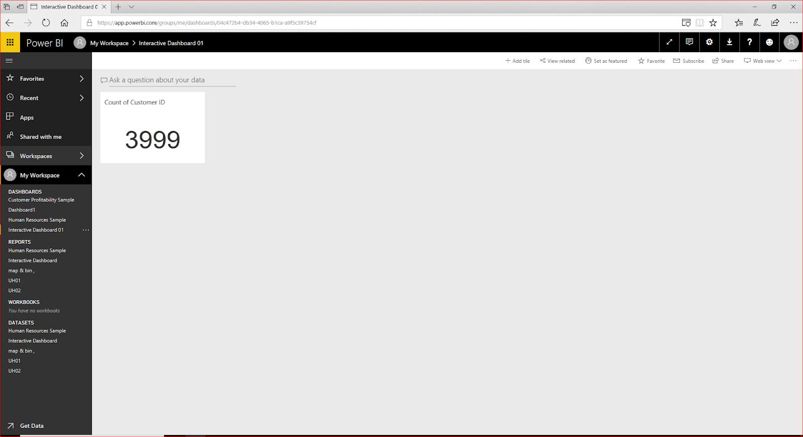 Interactive Dashboard In Microsoft Power BI 76