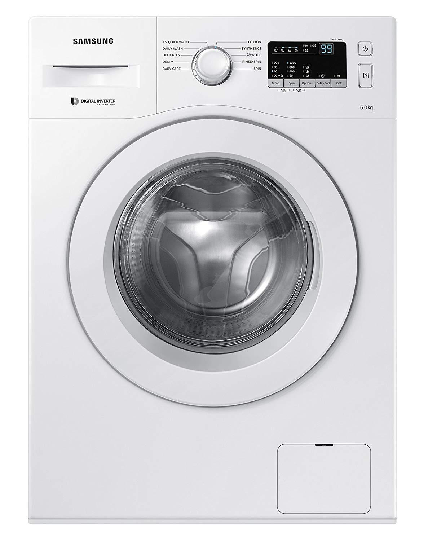 Samsung 6 kg WW60M206LMW/TL