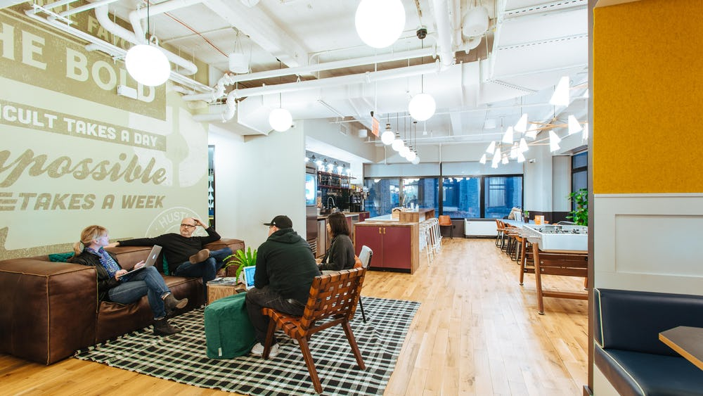 Work Better Wall Street Coworking spaces NYC