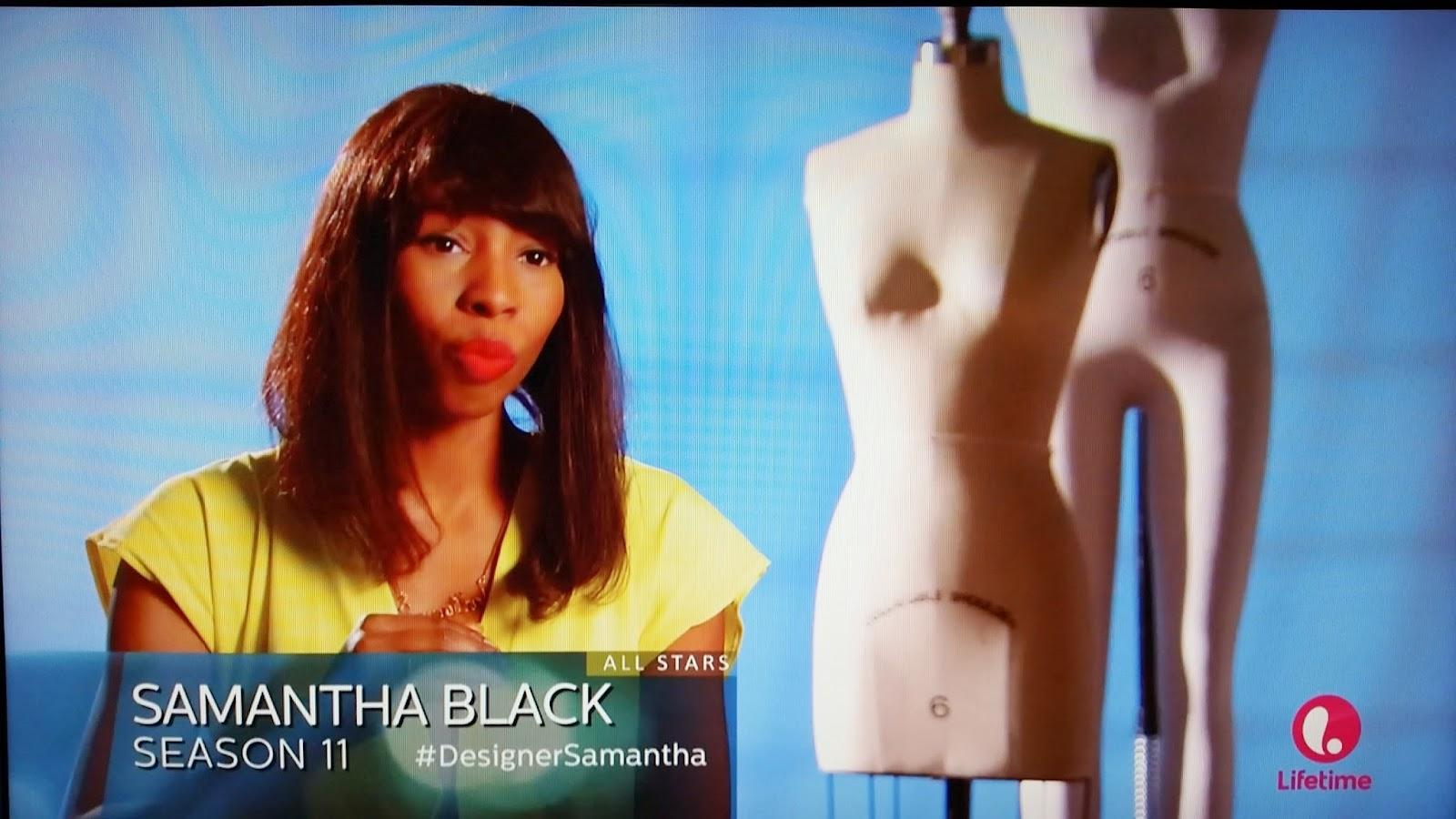 Project Runway All Stars Samantha Black recap