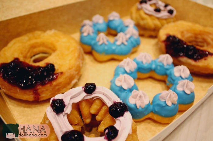 mister donut blueberry bunch