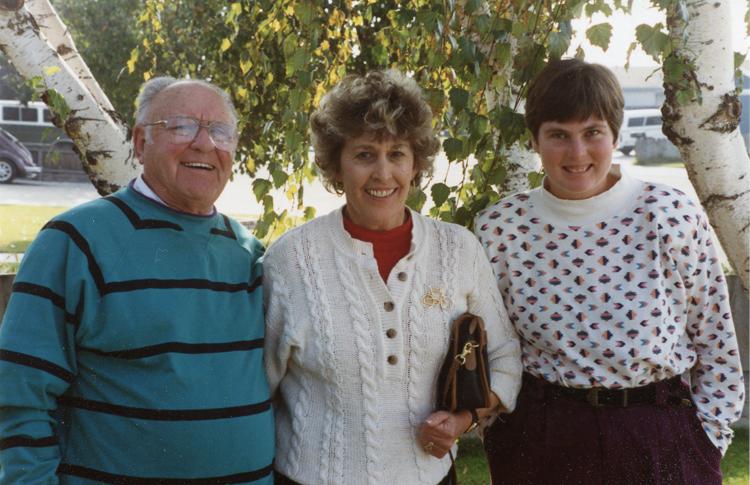 Reggie, Diane and Carol, 1992
