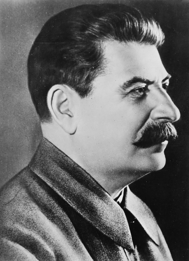 Portrait of Josef Stalin.