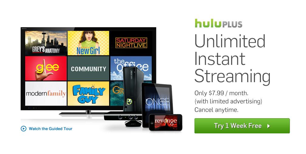 hulu plus free trial - 919×546