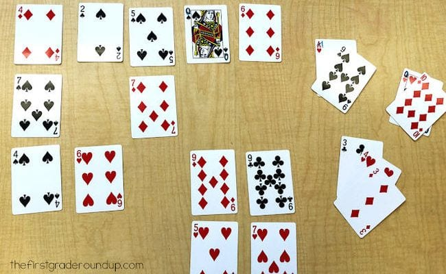 Math Card Games The First Grader Roundup