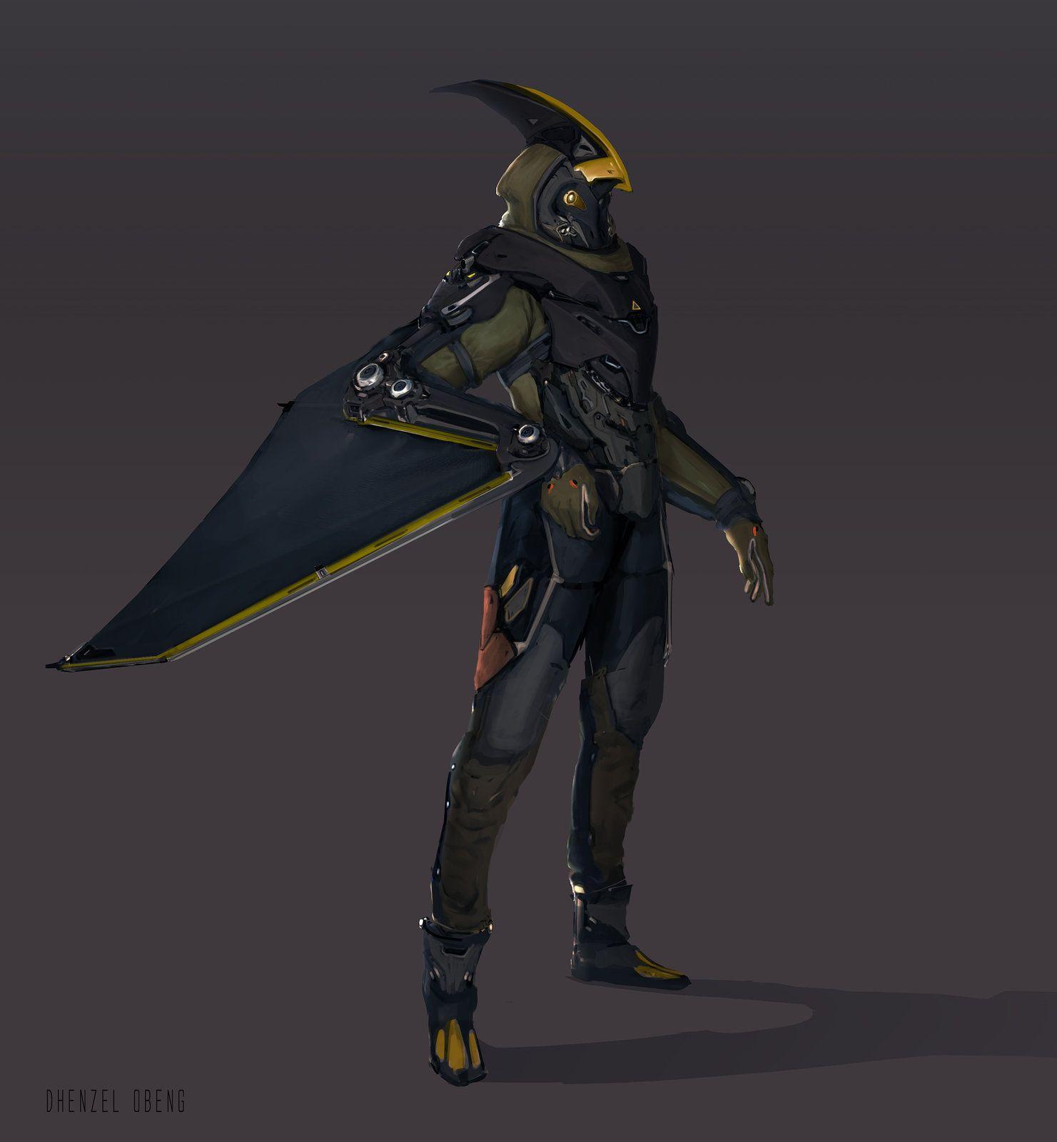 Robotpencil Character Design Class - Bat-bird-dude, Dhenzel Obeng ...