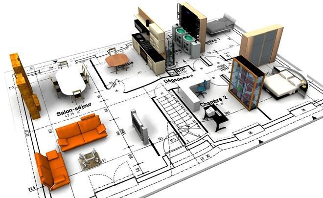 Bản thiết kế kiến trúc phần nội thất