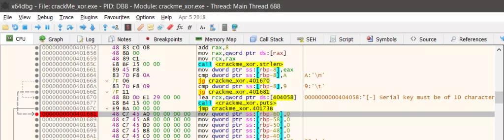 Kỹ thuật dịch ngược cho người mới bắt đầu - Mã hóa  XOR - Windows x64  - Ảnh 5.