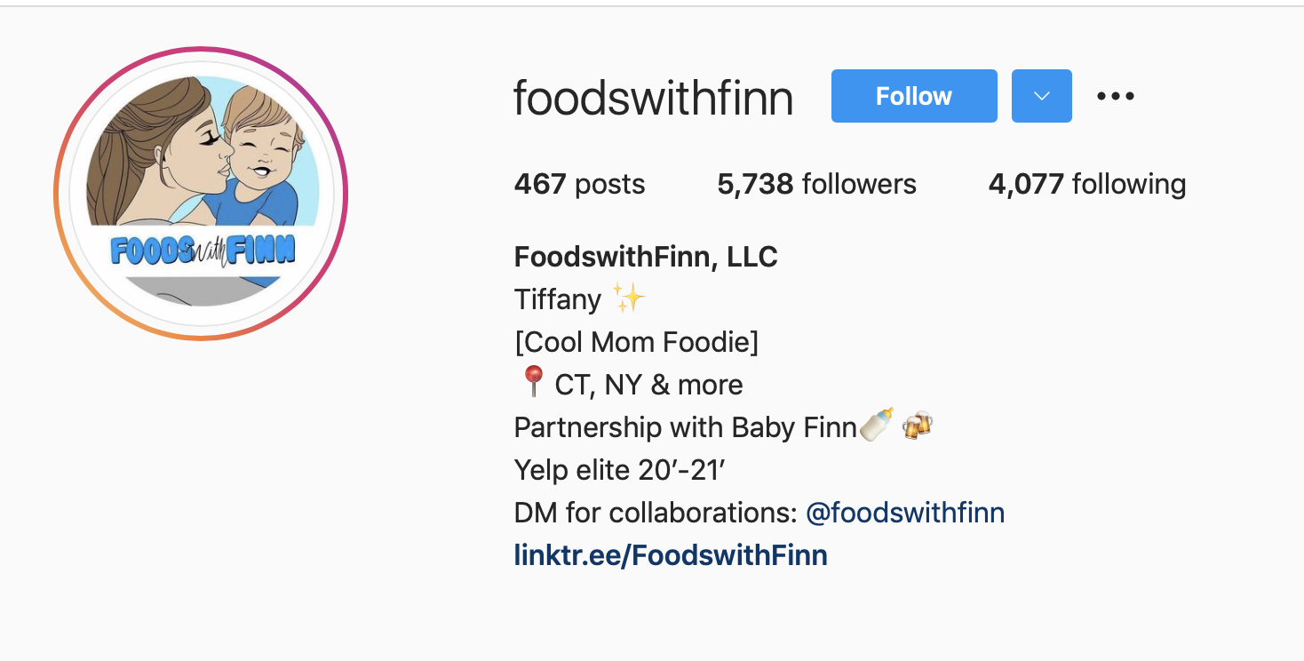 Tiffany Guckin | Cool Mom Foodie with High Engagement Rates