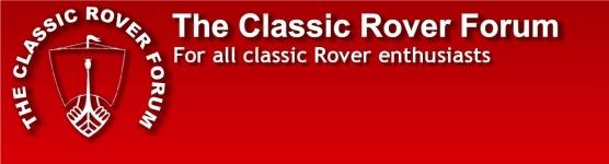 Classic Rover Forum