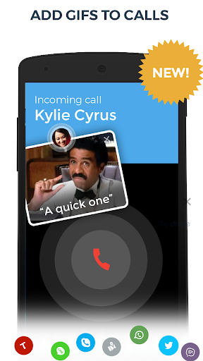 Contacts, Phone Dialer & Caller ID: drupe- screenshot thumbnail