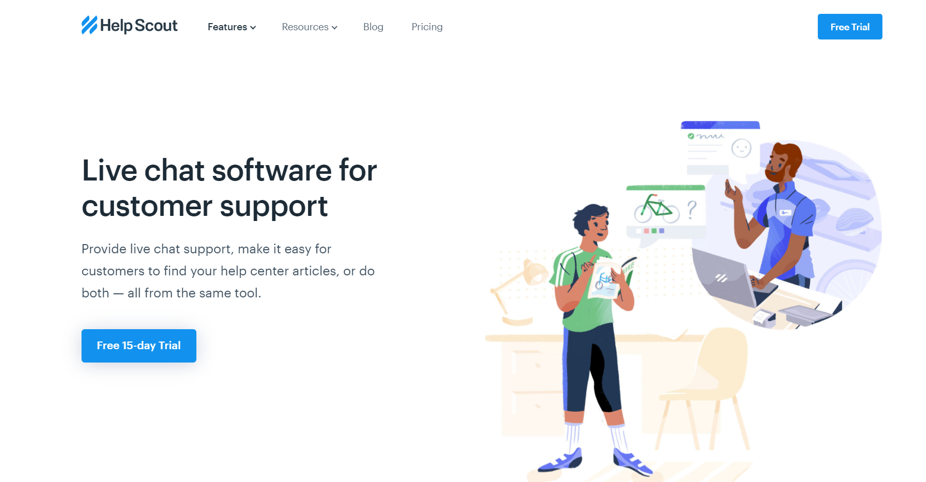 helpscout live chat
