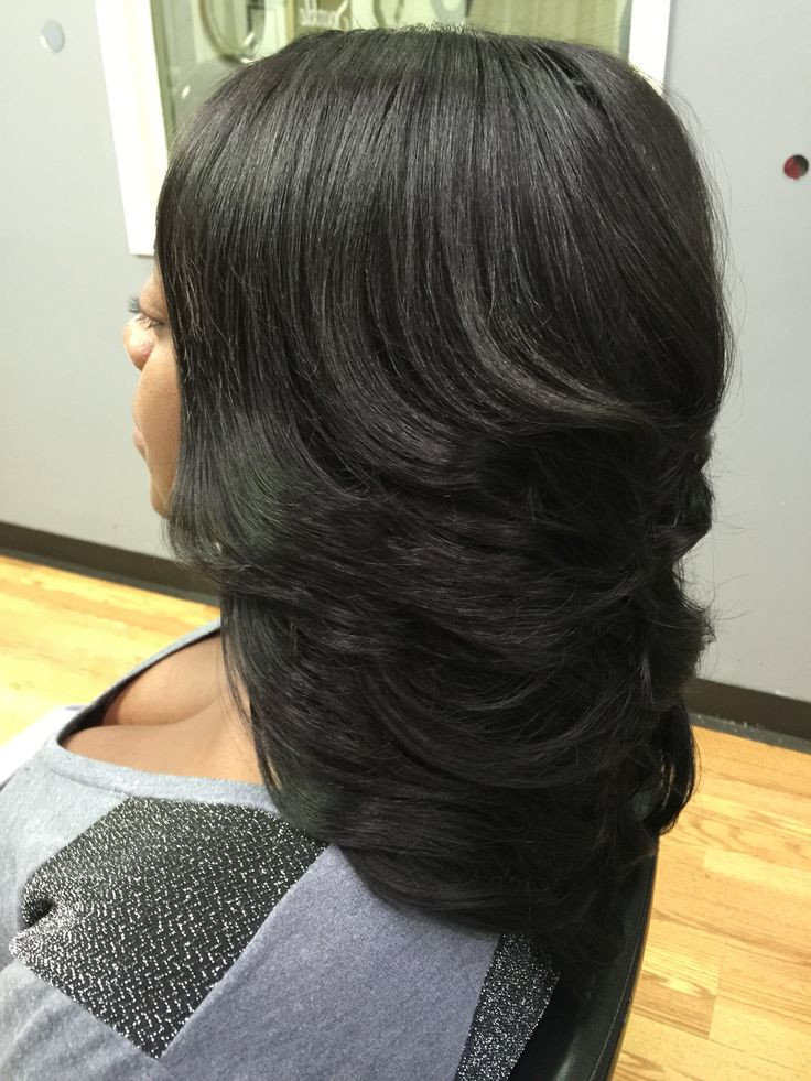 layered weave hairstyles