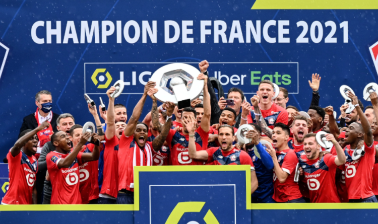 Lille have ended Paris Saint-Germain's dominance by winning the Ligue 1 title