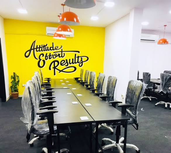 Hustle Cowork Coworking Space in Noida