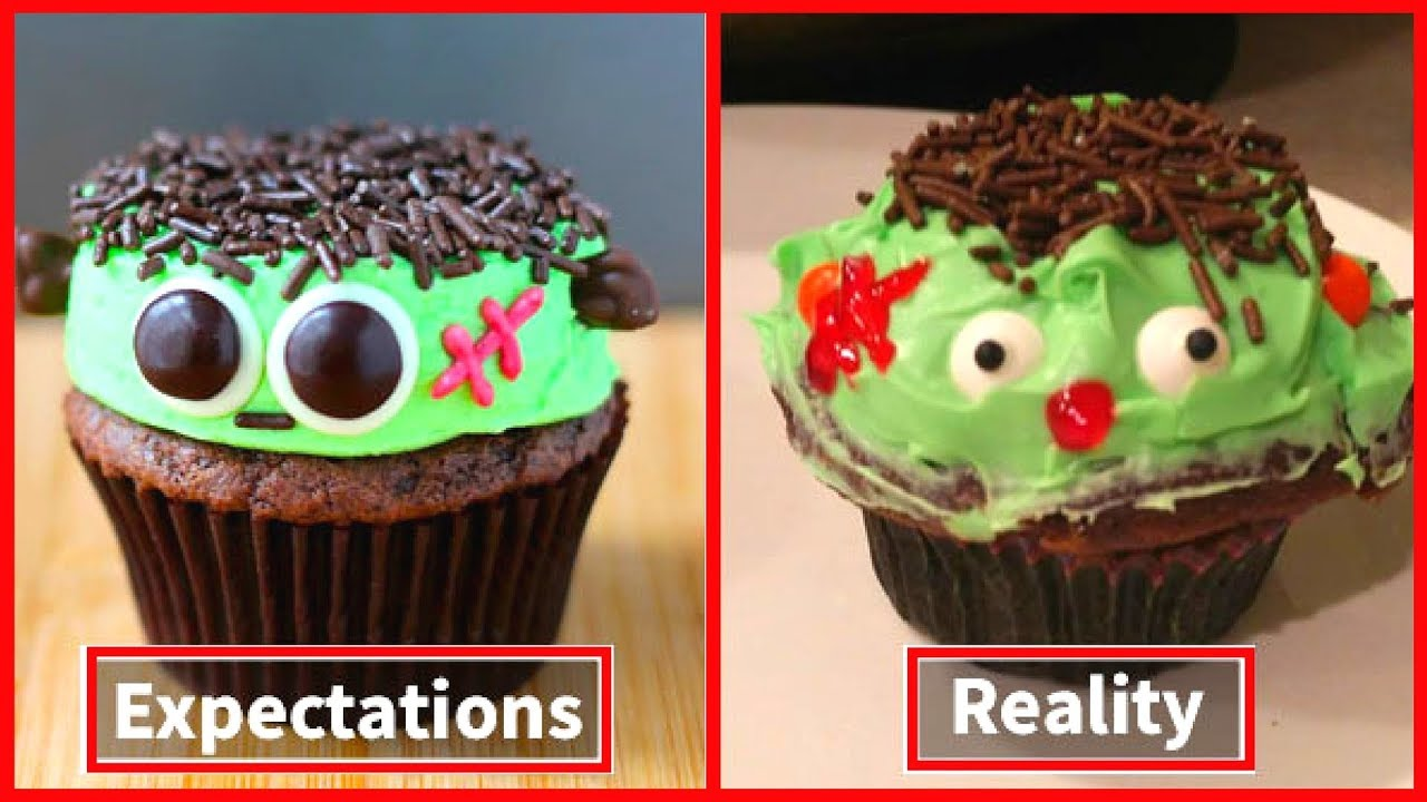 Quarantine baking- Expectation vs Reality