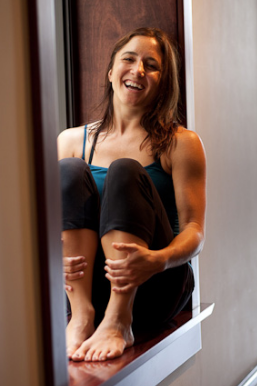 Erica Merrill - photo courtesy of Yogaview.