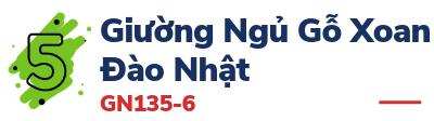 Giường Ngủ Gỗ Xoan Đào Nhật - GN135-6