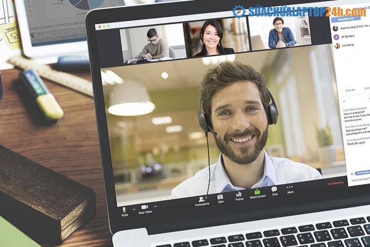 Phần mềm hội họp trực tuyến - Zoom